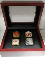 Detroit Red Wings - 4 Stanley Cup Champion Ring Set.. Yzerman Lidstrom Glasgow
