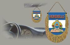 HONDURAS REAR VIEW MIRROR WORLD FLAG CAR BANNER PENNANT