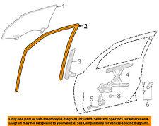 TOYOTA OEM 98-02 Corolla Front Door-Run Channel Left 6815102030