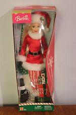 Santa's Helper Barbie Doll/Ayudante De Santa from 2004 NRFB Great for De-boxers