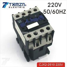 CJX2 2510 AC contactor LC1 25A 220V 50HZ/60HZ