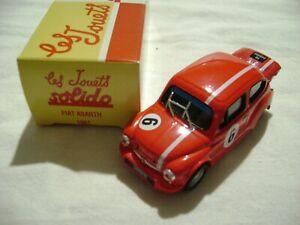 FIAT ABARTH 1961  1/43 SOLIDO  REF 711