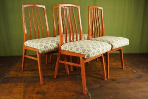 50s Vintage 4x Dining Room Chair Rockabilly Sprossenstuhl Kitchen Chair Retro