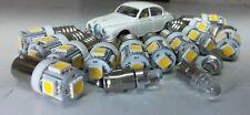 Jaguar MK2 Daimler V8 LED warmweiß Instrument BIRNE KOMPLETTSET E10 BA7s