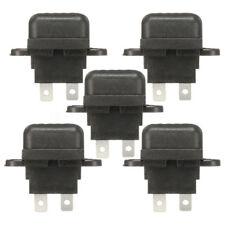 5 pièces Set 30 A AMP BALAI AUTO STANDARD Porte-fusible boite Noir pour voiture