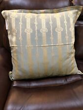 Fino Lino Pillow Sham  26x26 NWT Hand Crafted $ 334 MSRP 100% Silk