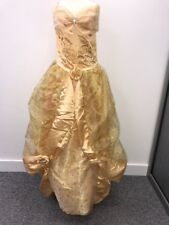 GENUINE Disney Girls *Belle* Deluxe costume dressing up outfit *Age 10*