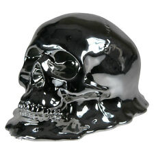 Melting Skull Money Box 20cm | Silver | Nemesis Now | RARE UNIQUE COOL GIFT IDEA