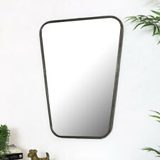 Large Bronze Wall Mirror bathroom bedroom decor industrial living room modern