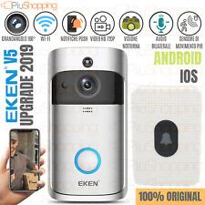 EKEN® V5 VIDEOCITOFONO WIFI IP WIRELESS TELECAMERA HD 720P CAMPANELLO SMARTPHONE