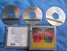 Arturo Benedetti Michelangeli Concerti Per Pianoforte 3x CD Album SET