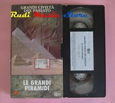 film VHS cartonata GRANDI CIVILTA' DEL PASSATO LE GRANDI PIRAMIDI  (F65) no dvd