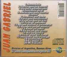 cd RARE balada 80s JUAN GABRIEL un loco enamorado ABRAZAME MUY FUERTE mi fracaso