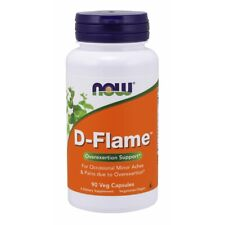 Now Foods D-Flame - 90 Veg Capsules FRESH, FREE SHIPPING, MADE IN USA