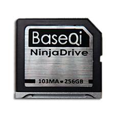 """BASEQI NinjaDrive 256GB for MacBook Air 13"""" & Non-Retina MacBook Pro 13""""/15"""""""