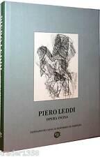 PIERO LEDDI opera incisa 2002 tiratura limitata 1500 esmplari raro!