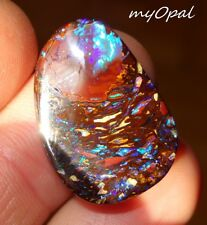 +++ Wunderschöner Koroit Boulder Matrix Opal --- by myOpal ! --- siehe VIDEO