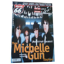 REVISTA RUTA 66 #172 (Mayo 2001) . thee michelle gun elephant pop art steve wynn