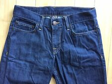 AX ARMANI EXCHANGE BLUE JEANS mens 30x30 straight leg zipper fly pants EXCELLENT
