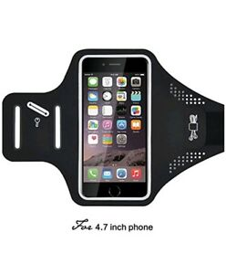 Armbands CARFUL Water Resistant 4.7 Inch Armband For Cell Phone Sports With Key