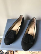 MARVIN K. Womens Suede Ballet Flat  Shoes Sz 9.5