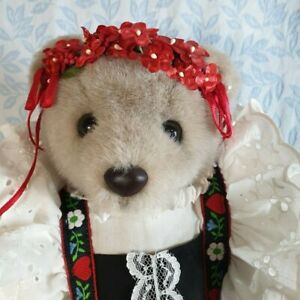 """'Bearly People' bear Alpine Lace collection """"Heidi"""""""