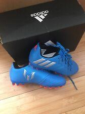 Adidas Messi 16.3 AG Football Boots Size 11 Kids BNIB Blue