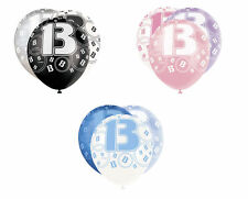 Birthday, Adult Round Party Balloons