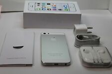 Apple iPhone 5s 16GB White Silver (Verizon)unlocked GSM Smartphone 4G LTE Great