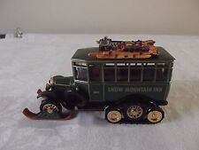 MATCHBOX COLLECTORS LIMITED EDITION 1921 SCANIA-VABIS HALF TRACK SKI BUS SNOW MO