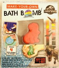 Make Your Own Bath Bomb Jurassic World Magma Mango Scented T-Rex Makes 4