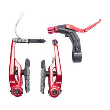 BRAKE KIT BOX THREE V Caliper 108mm w/LEVER RED AND CABLE LONG BMX