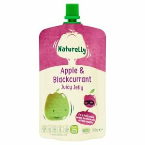 Naturelly Jelly Juice Apple & Blackcurrant Pouch
