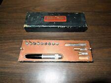 Vintage Genie Tool Model Tools, Modeling Chisels, Burbank Calif.