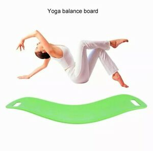 Balance board fitness for muscle training stabilization yoga handles twist ABS