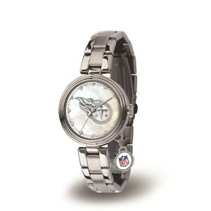 Tennessee Titans Charm Watch with Stainless Steel Band