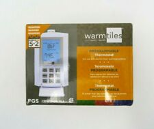 Emerson Warm Tiles Programmable White Thermostat FGS 120V/240V up to 7 Days
