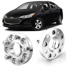 2pcs Wheel Spacers Centric Hub Adapters 5x4.1 56.6mm 12x1.5 Stud For Chevy Cruze