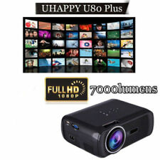 New listing 5000 Lumens Full Hd 1080P Led Lcd 3D Vga Hdmi Tv Home Theater Projector Cinema