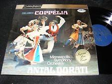 DELIBES Coppelia MINNEAPOLIS Symphony Orchestra ANTAL DORATI 2 LP Mercury Import
