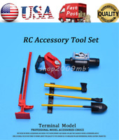 1/10 RC Rock Crawler Tools Kit RC Accessory Set For D90 Axial Wraith Axial SCX10
