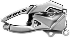 SRAM XX front DERMABLEND S1 bottom-pull (28 / 42T) Argento