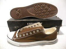 CONVERSE ALL STAR OX CHUCK TAYLOR SPECIAL MEN SHOES CHOCOLATE *Q112 SIZE 13 NEW