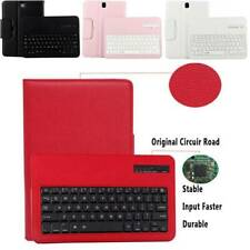 """Bluetooth Keyboard + Leather Case For Samsung Galaxy Tab A S2 S3 9.7"""" T550 T810"""
