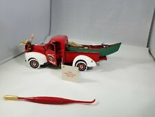 Franklin Mint 1999 Christmas Truck 1940 Ford 1:24 Limited Edition Complete