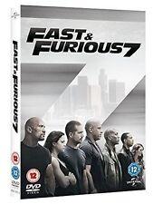 Fast & Furious 7 DVD 2015 VIN Diesel Paul Walker Dwayne Johnson