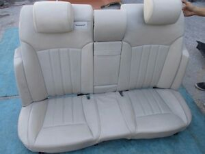 Bentley Continental Flying Spur rear seats gray