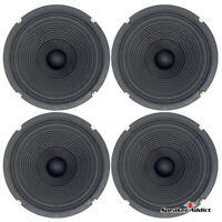 "4-PACK Peavey Blue Marvel 10"" 8ohm guitar speaker great 4 combo amp replacement"