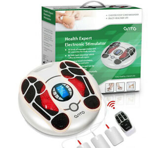 OSITO TENS & EMS Foot Massager Machine Feet Legs Circulation Device Pain Relief