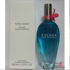 BORN IN PARADISE ESCADA 3.4 oz  EDT / 100 ml Eau DeToilette Spray (T e s t e r)